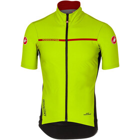 Castelli Perfetto Light 2 Fietsshirt korte mouwen Heren, yellow fluo